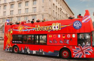 Liverpool: Offene Sightseeing-Bustour