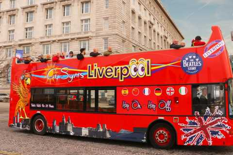 Liverpool: Open-Top Sightseeing Bus Tour