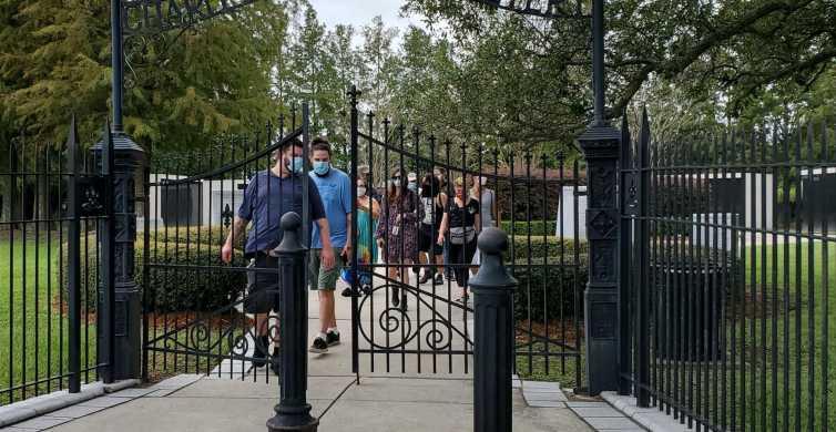 Nueva Orleans: tour por los cementerios de Canal Street y el monumento a Katrina