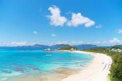 Naha: Excursão diurna à Ilha Tokashiki em barco de alta velocidade