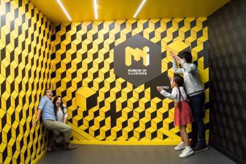 Madrid: entrada al Museo de las Ilusiones