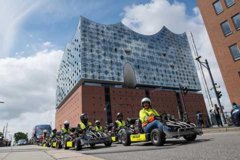 Hamburg: Panoramic Streetkart Tour
