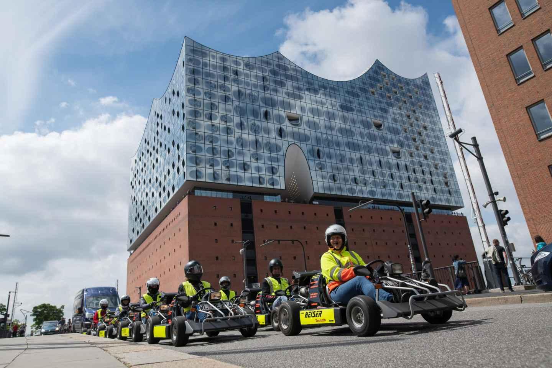 Hamburg: Panorama-Straßenkart-Tour