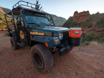 Sedona: Mogollon Rim Run Offroad Jeep Tour