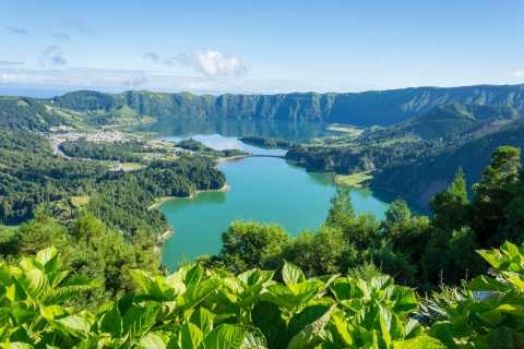 From Ponta Delgada: Sete Cidades Kayak & Bike Adventure