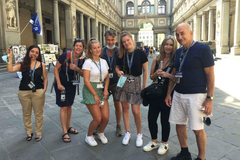 Florenz: Stadtrundgang und Besuch der Uffizien