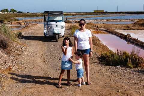 From Tavira: Tuk Tuk Tour to Cabanas & Cacela Velha Village