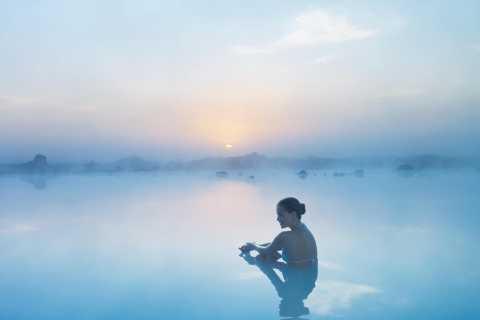Lagoa Azul: Pacote de entrada incl. Toalha e bebida