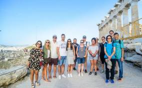 Acropolis: Evening Tour With a German-Speaking Guide