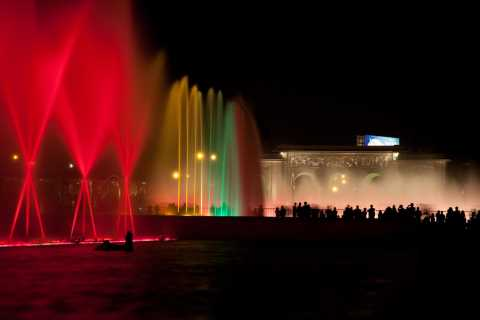 Lima: Half-Day Fountains Tour with Dinner & Folklore Show
