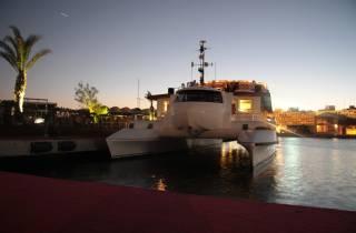 Valencia: Bootsfahrt bei Sonnenuntergang