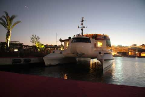 Valence : promenade en bateau au coucher du soleil