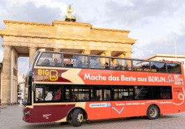 Aktivitäten Berlin - Berlin: Hop-On-Hop-Off-Sightseeing-Bustour optional mit Boot