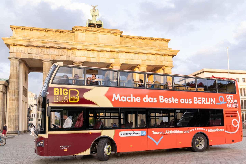 Berlin: Hop-On/Hop-Off-Bustour mit optionaler Bootsfahrt
