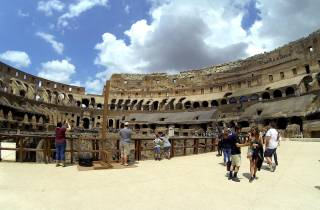 Rom: Colosseum Arena Kleingruppentour & Forum Forum Option