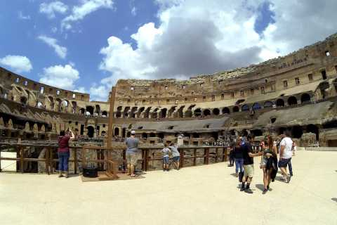 Rome: Colosseum Arena Small-Group Tour & Roman Forum Option