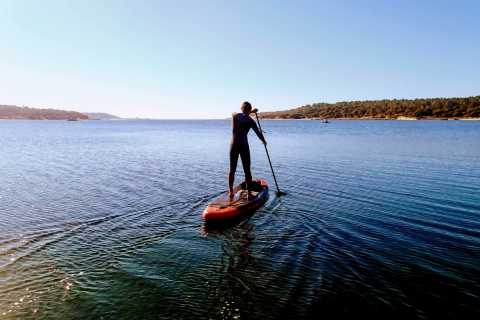 Lisbon: Stand Up Paddle Adventure at Albufeira Lagoon
