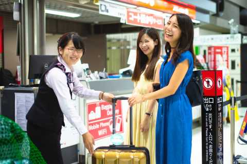 Tokyo: Narita Airport Same-Day Luggage Delivery Service