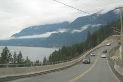 Entre Vancouver e Whistler: excursão autoguiada de direção em áudio