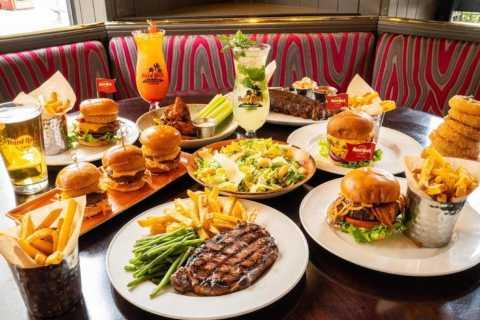 Comida en Hard Rock Las Vegas en el Strip de Las Vegas
