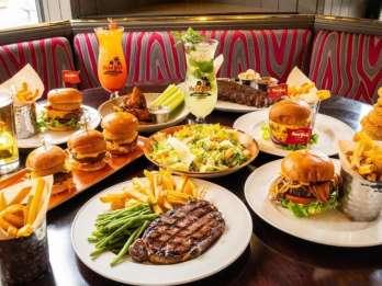 Essen im Hard Rock Cafe auf dem Las Vegas Strip