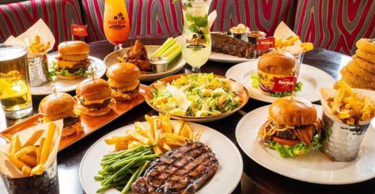 Meal at Hard Rock Las Vegas on the Las Vegas Strip