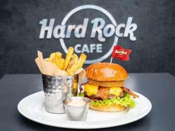 Essen im Hard Rock Café Baltimore