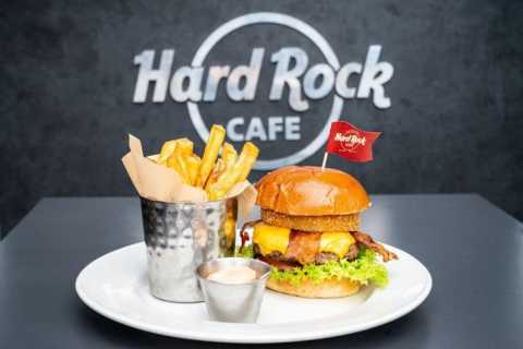 Meal at the Hard Rock Café New Orleans