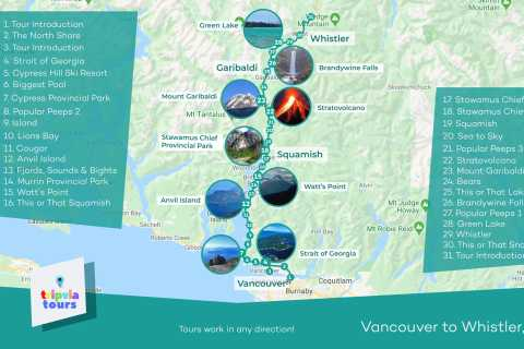 Between Vancouver & Whistler: Self-Guided Audio Driving Tour