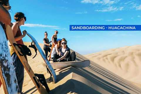 From Lima: Full-Day Paracas and Huacachina Luxury Bus Tour