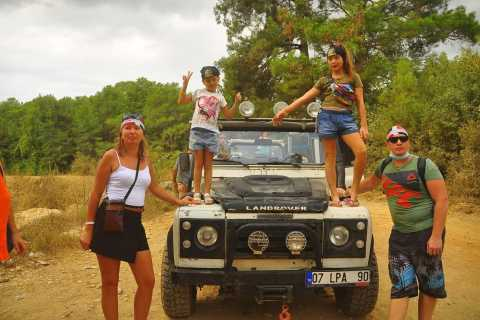 From Side: Taurus Mountains Jeep Safari Adventure