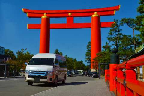 Kyoto: Private Car Hire with Professional Driver