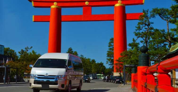 Kyoto: noleggio auto privato con autista professionista