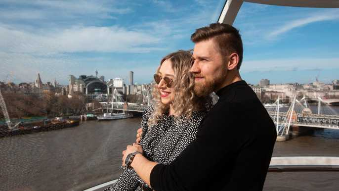 London: The London Eye Ticket with Fast-Track Option
