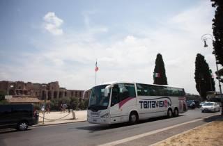 Transfer zwischen Flughafen Fiumicino und Roma Termini