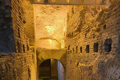 Rome: Piazza Navona en Trevi Fountain Underground Pass