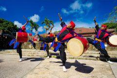 Ingresso de admissão mundial de Okinawa