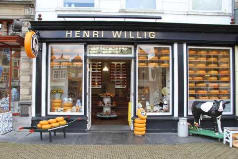 Delft: degustación de quesos en la tienda Henri Willig
