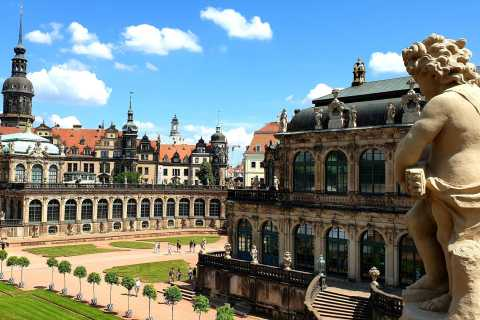 Dresden: Historical Walking Tour and Chocolate Museum Ticket