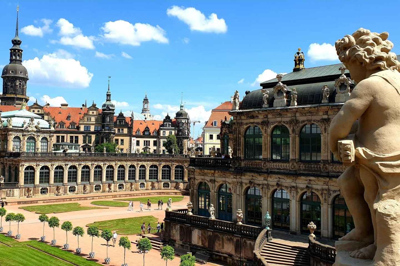 Dresden: Historischer Rundgang und Schokoladenmuseum-Ticket