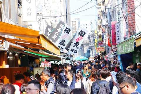 Tokyo: 1-Hour Tsukiji Fish Market Food Tour with Local Guide