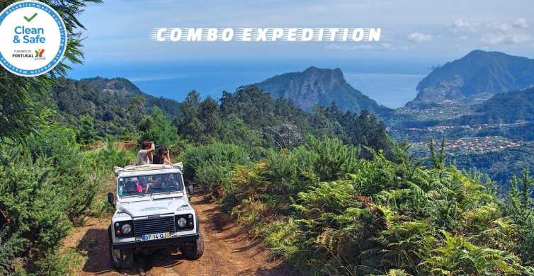 Madeira: Full-Day Jeep Tour and Levada Walk
