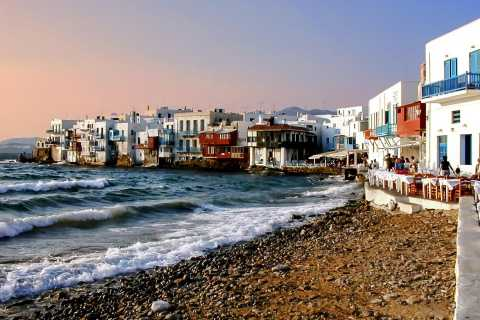 From Athens: 5-Day Trip in Mykonos & Santorini