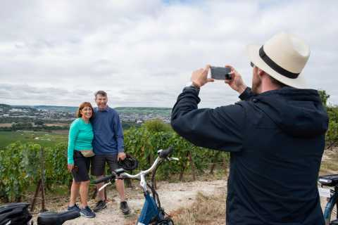 From Reims: E-Bike Champagne Tasting Tour and Lunch