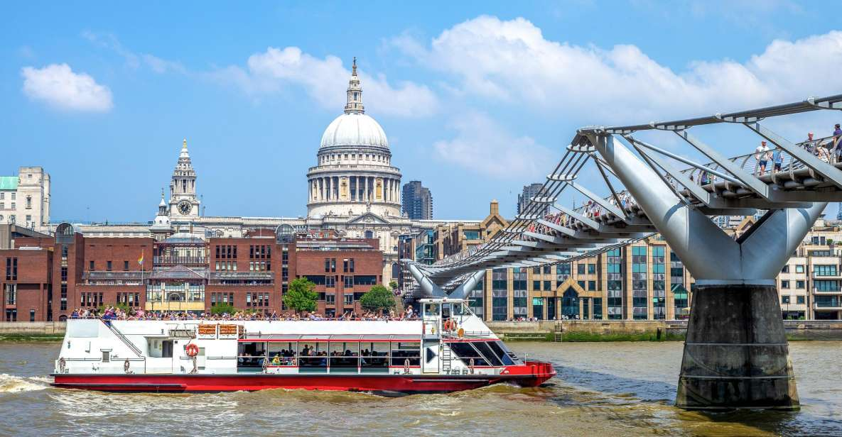 London: Harry Potter Walking Tour with River Thames Cruise