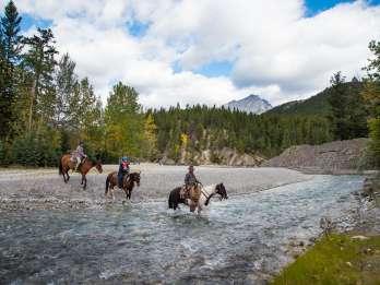 Banff National Park: 1-stündige Reitfahrt auf dem Spray River