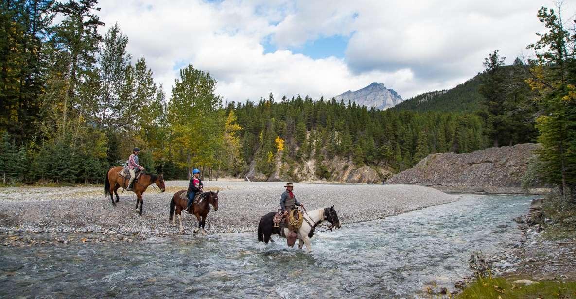 Banff National Park: 1-Hour Spray River Horseback Ride