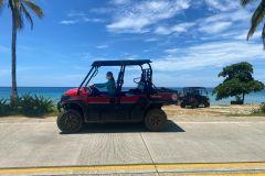San Andres: aluguel de carrinho de golfe com 6 lugares