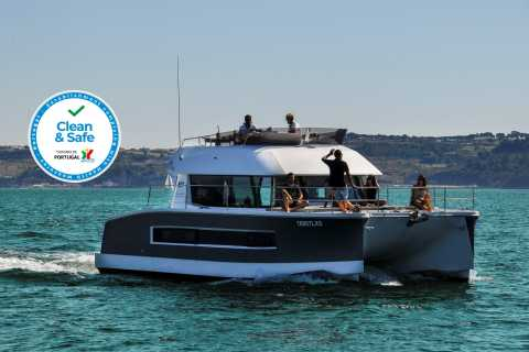 Lisbon 2-Hour Private Tour by Power Catamaran 18 people
