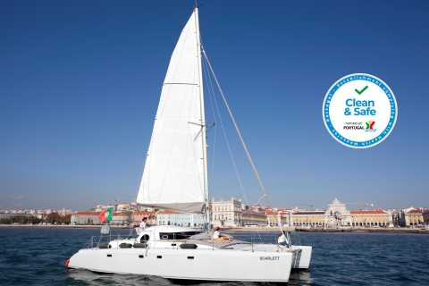 Lisbon: 2-Hour Private Sailing Trip by Catamaran